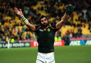 Rugby Union - Rugby World Cup 2011 - Quarter Final - South Africa v Australia - Wellington Regional Stadium