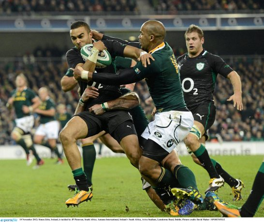 Ireland v South Africa - Autumn International
